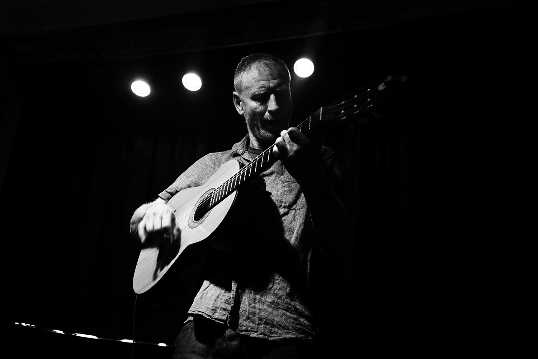 Sean O'Hagan (The High Llamas) by Laurent Orseau - Maison des Musiques - Brussels, Belgium #8