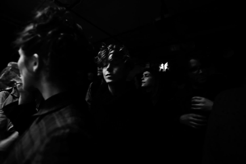 Société Etrange by Laurent Orseau - Concert - Les Ateliers Claus - Brussels, Belgium #7