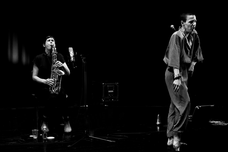 Sofia Kakouri & Lazara Rosell Albear & Audrey Lauro by Laurent Orseau - Summer Bummer Festival - De Studio - Antwerp, Belgium #5