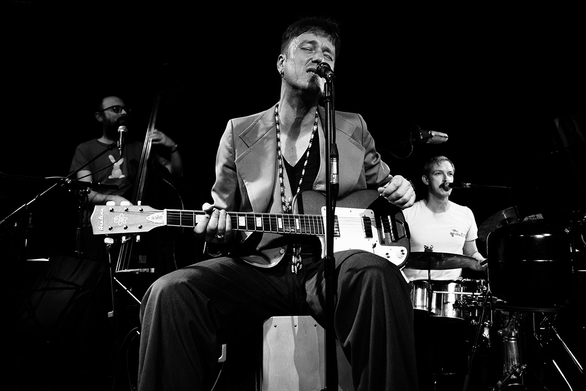 Stef Kamil Carlens & Band by Laurent Orseau - Les Ateliers Claus - Brussels, Belgium #4