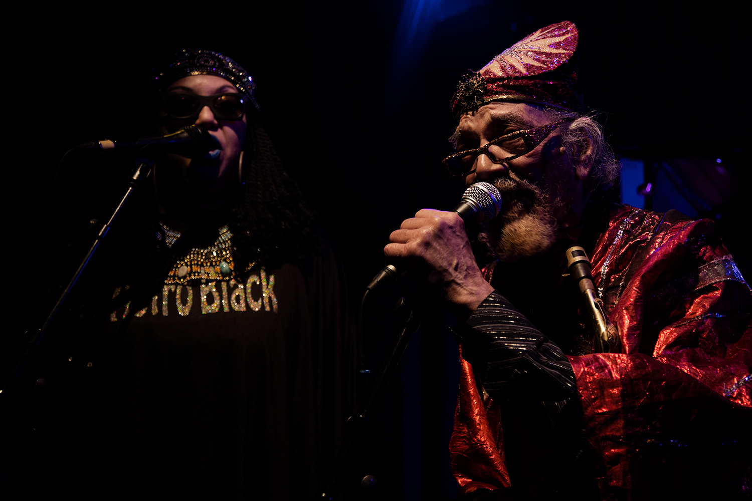 Sun Ra Arkestra directed by Marshall Allen by Laurent Orseau - Concert - Les Ateliers Claus - Brussels, Belgium #10