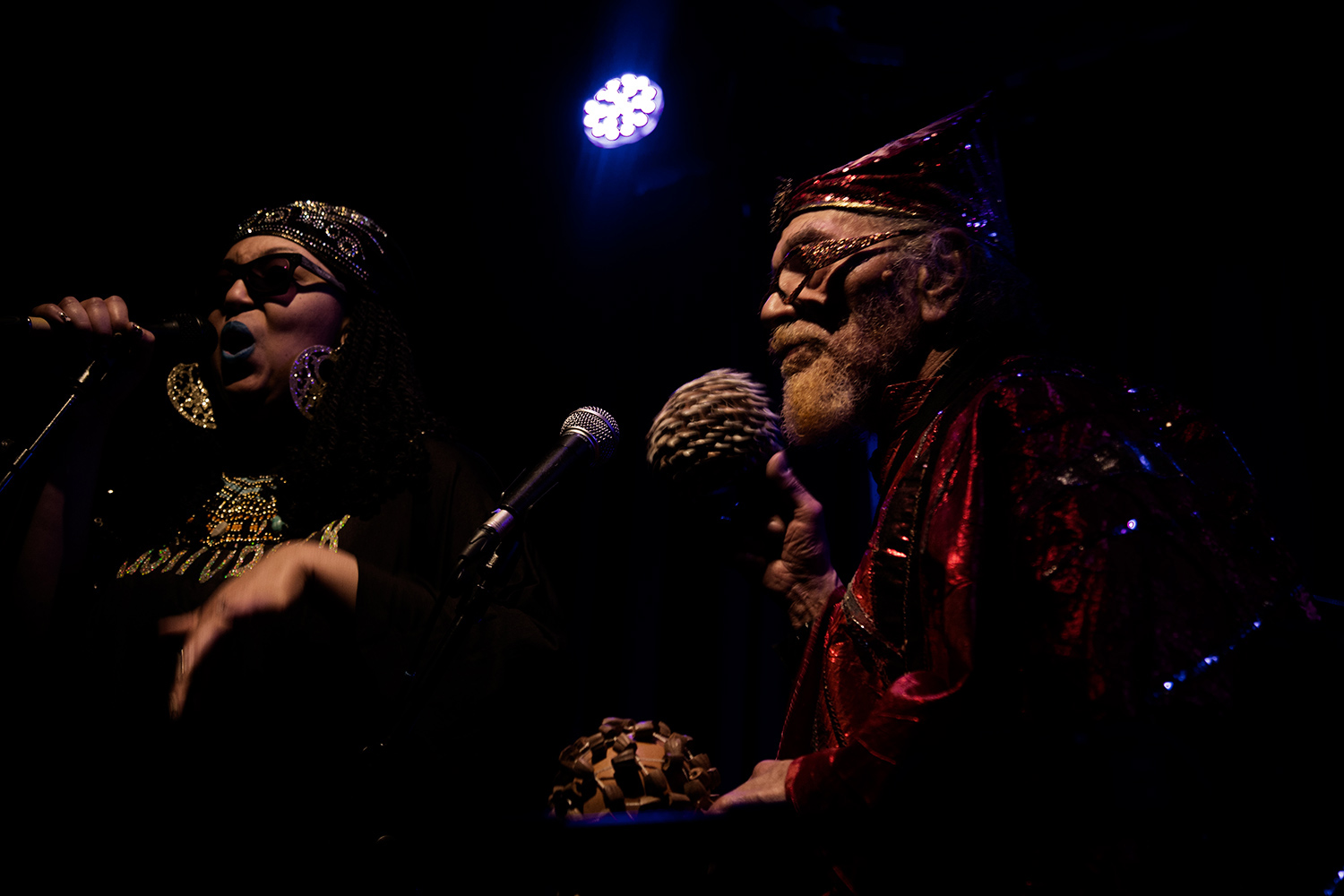 Sun Ra Arkestra directed by Marshall Allen by Laurent Orseau - Concert - Les Ateliers Claus - Brussels, Belgium #11