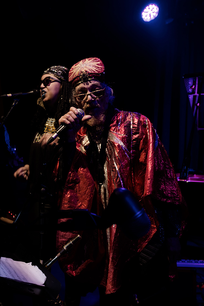 Sun Ra Arkestra directed by Marshall Allen by Laurent Orseau - Concert - Les Ateliers Claus - Brussels, Belgium #12