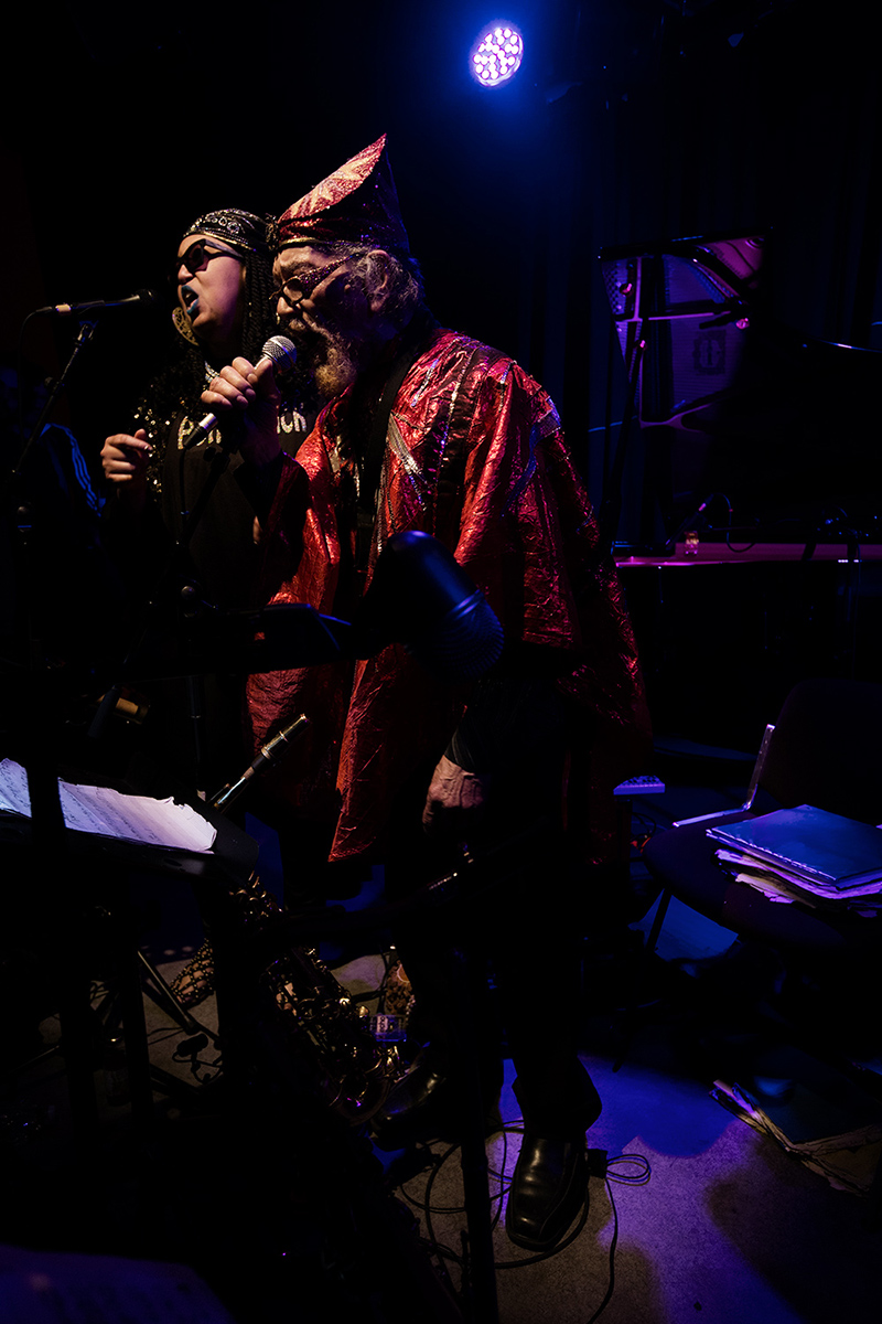 Sun Ra Arkestra directed by Marshall Allen by Laurent Orseau - Concert - Les Ateliers Claus - Brussels, Belgium #13