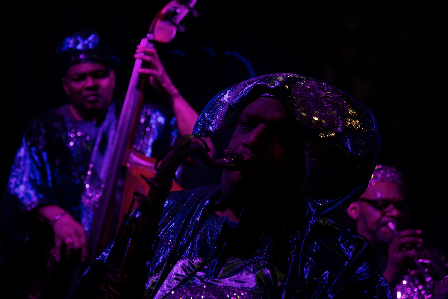 Sun Ra Arkestra directed by Marshall Allen by Laurent Orseau - Concert - Les Ateliers Claus - Brussels, Belgium #15