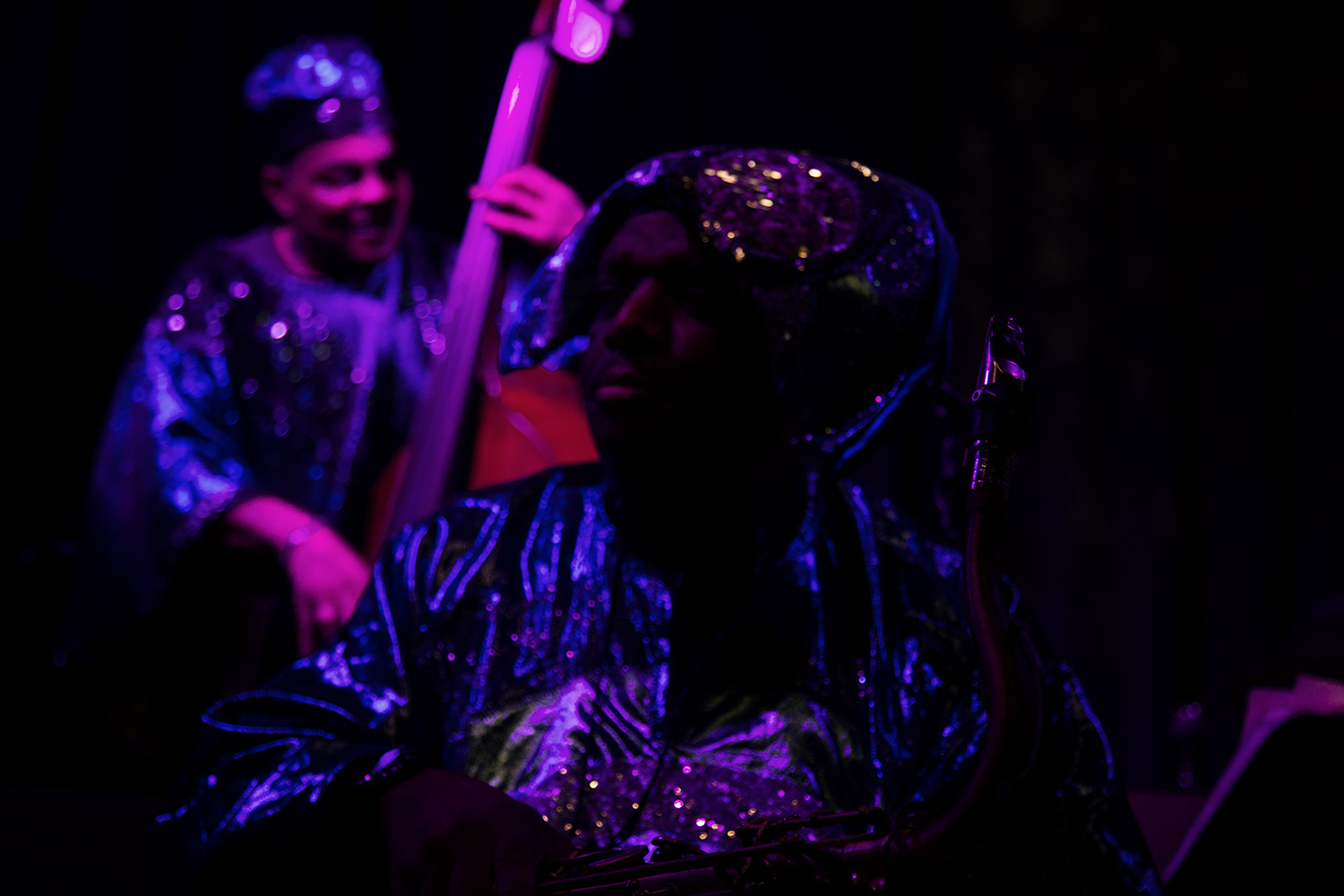 Sun Ra Arkestra directed by Marshall Allen by Laurent Orseau - Concert - Les Ateliers Claus - Brussels, Belgium #16