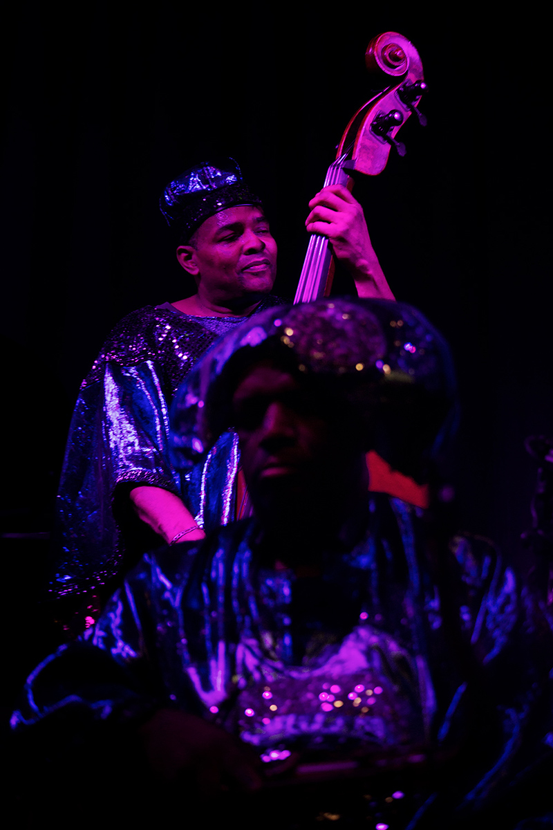 Sun Ra Arkestra directed by Marshall Allen by Laurent Orseau - Concert - Les Ateliers Claus - Brussels, Belgium #17