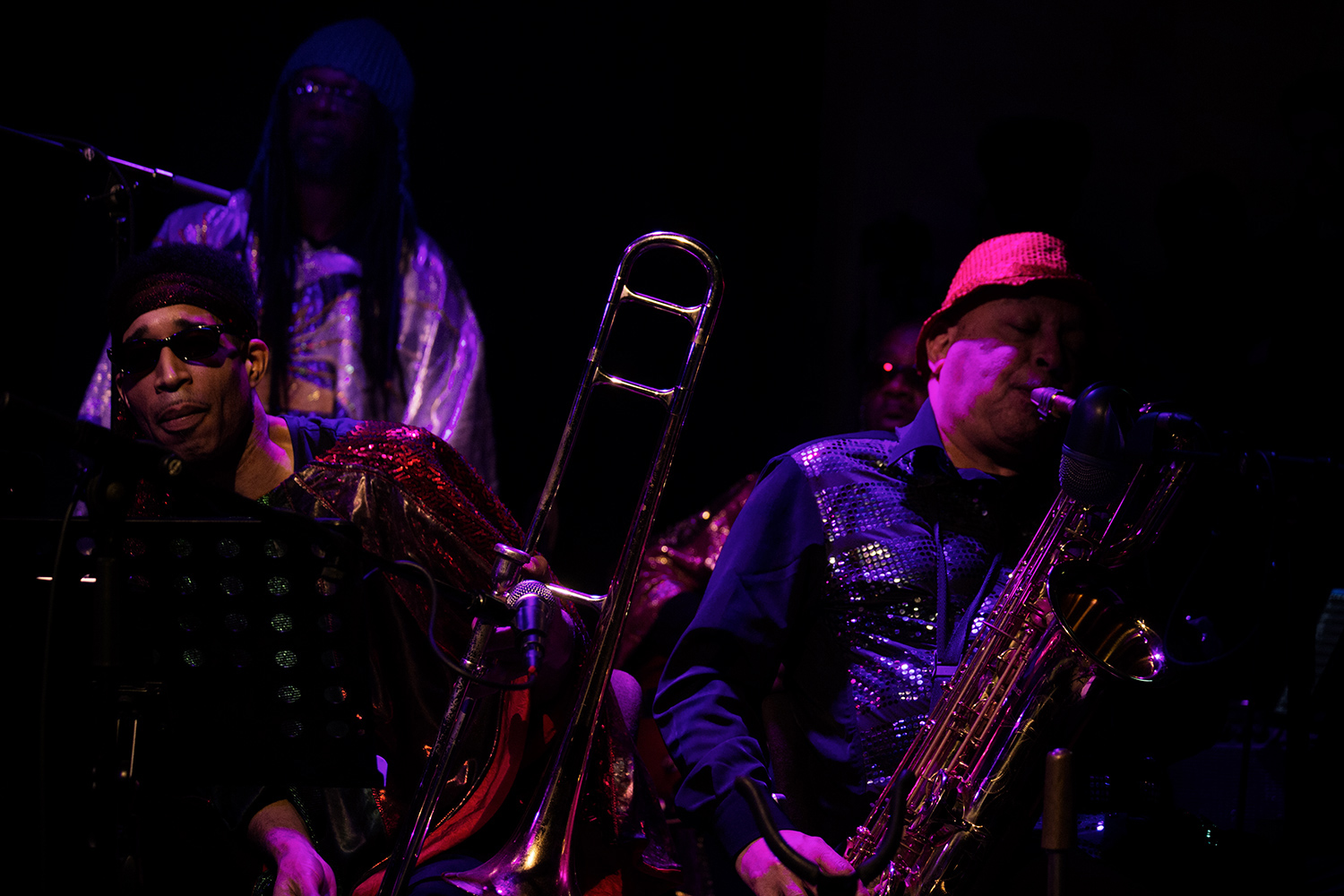 Sun Ra Arkestra directed by Marshall Allen by Laurent Orseau - Concert - Les Ateliers Claus - Brussels, Belgium #18
