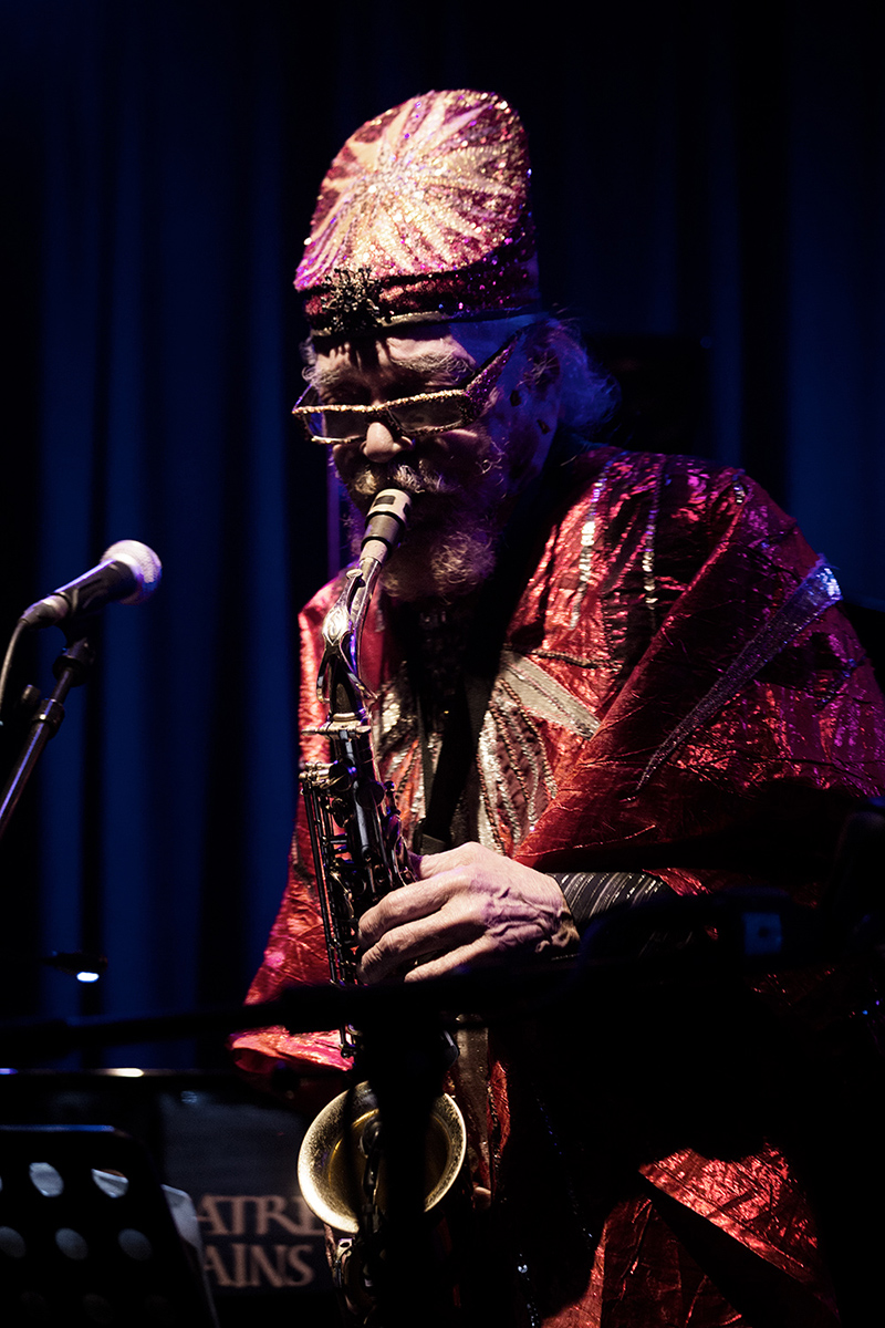 Sun Ra Arkestra directed by Marshall Allen by Laurent Orseau - Concert - Les Ateliers Claus - Brussels, Belgium #19