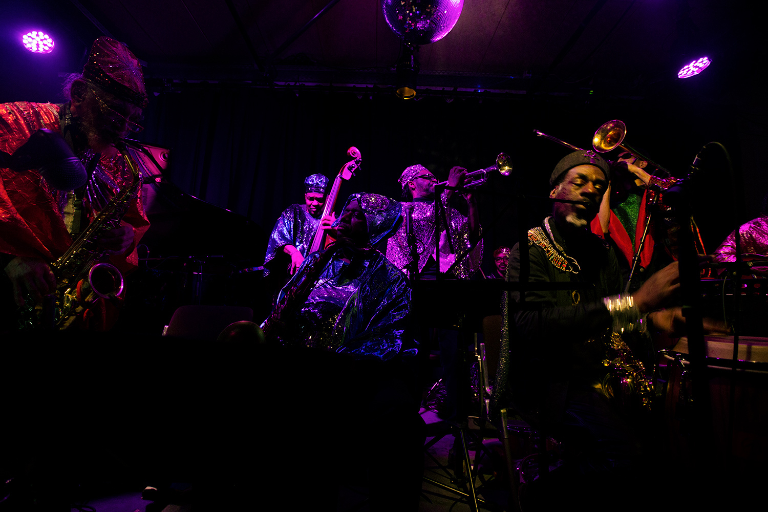 Sun Ra Arkestra directed by Marshall Allen by Laurent Orseau - Les Ateliers Claus - Brussels, Belgium #2