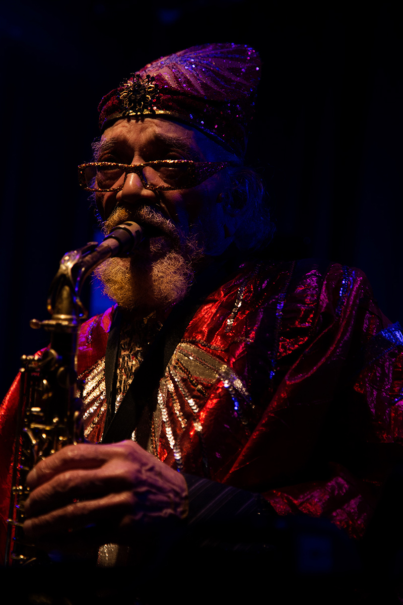 Sun Ra Arkestra directed by Marshall Allen by Laurent Orseau - Concert - Les Ateliers Claus - Brussels, Belgium #20