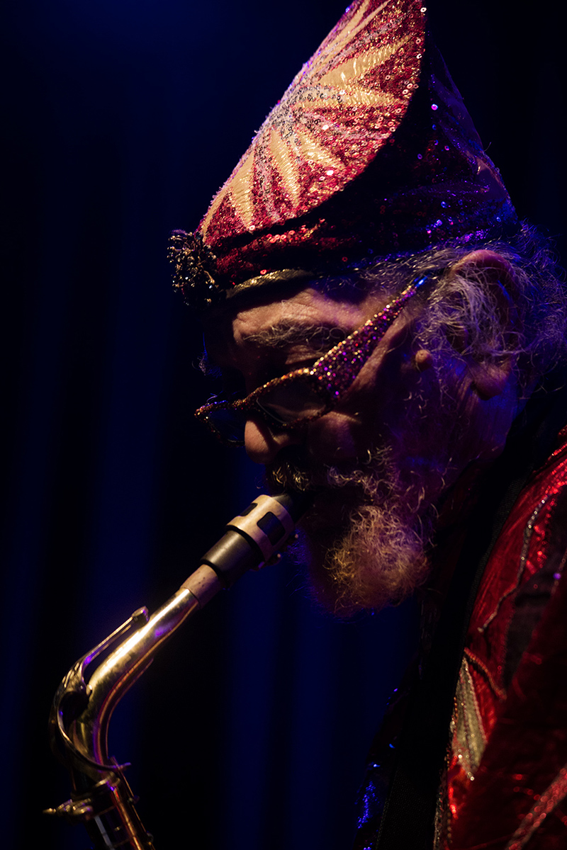 Sun Ra Arkestra directed by Marshall Allen by Laurent Orseau - Concert - Les Ateliers Claus - Brussels, Belgium #21