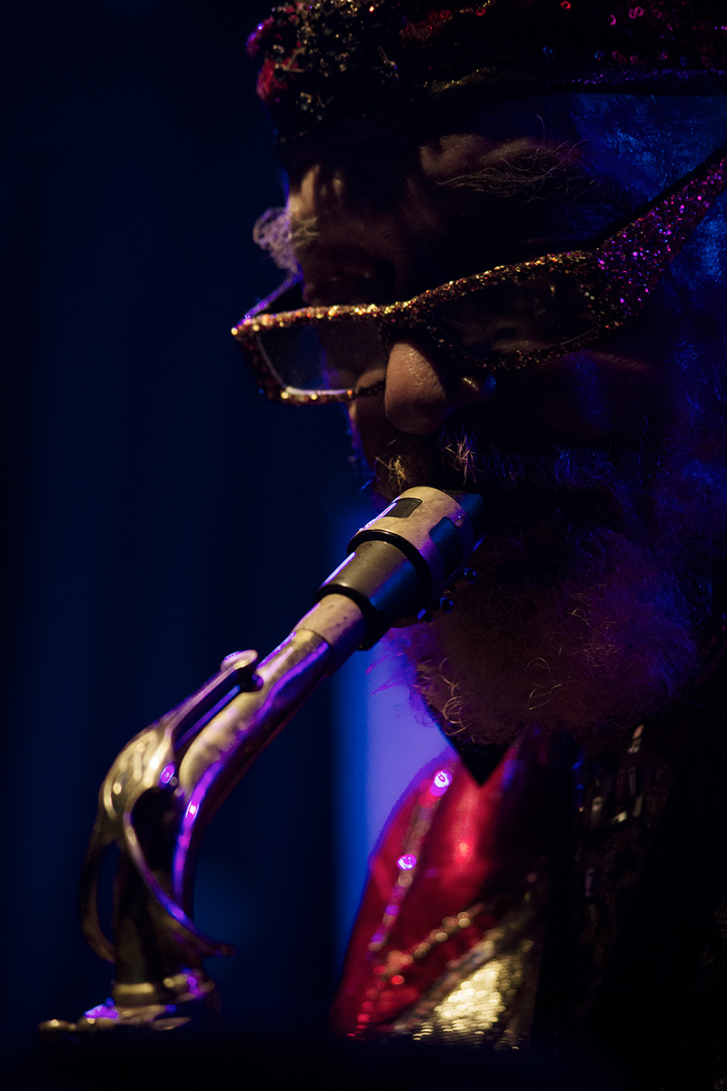 Sun Ra Arkestra directed by Marshall Allen by Laurent Orseau - Concert - Les Ateliers Claus - Brussels, Belgium #22