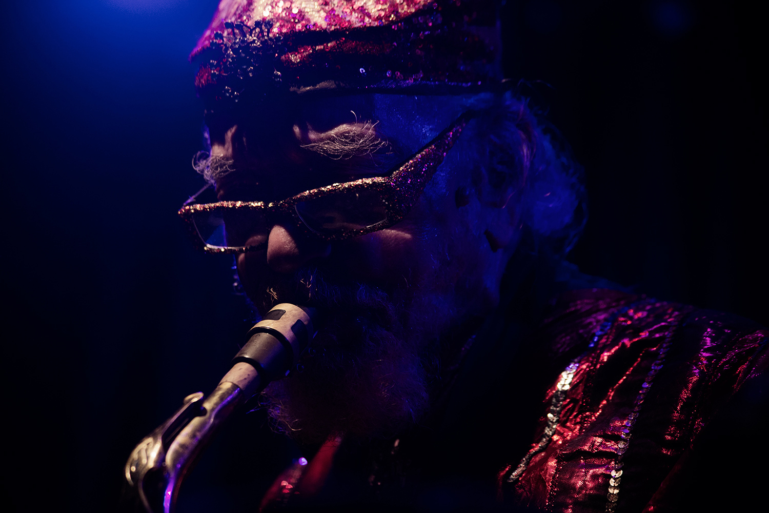 Sun Ra Arkestra directed by Marshall Allen by Laurent Orseau - Concert - Les Ateliers Claus - Brussels, Belgium #23