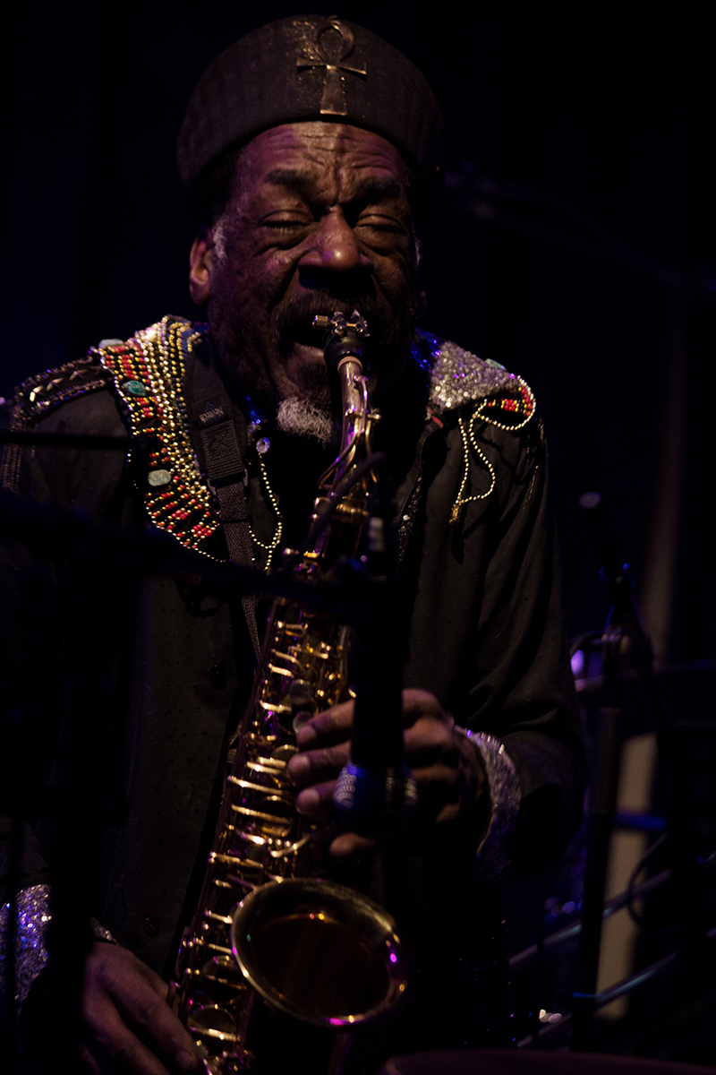 Sun Ra Arkestra directed by Marshall Allen by Laurent Orseau - Concert - Les Ateliers Claus - Brussels, Belgium #24