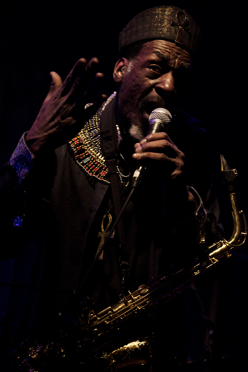 Sun Ra Arkestra directed by Marshall Allen by Laurent Orseau - Concert - Les Ateliers Claus - Brussels, Belgium #25