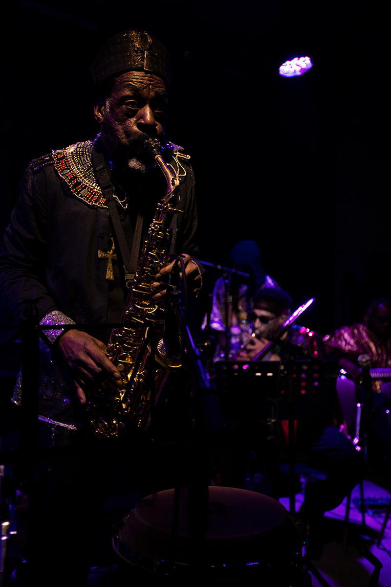 Sun Ra Arkestra directed by Marshall Allen by Laurent Orseau - Concert - Les Ateliers Claus - Brussels, Belgium #26