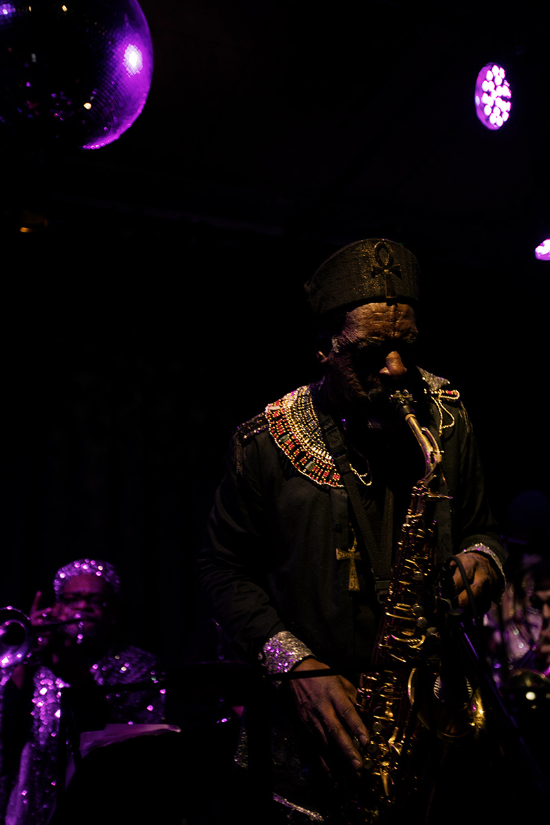 Sun Ra Arkestra directed by Marshall Allen by Laurent Orseau - Concert - Les Ateliers Claus - Brussels, Belgium #27