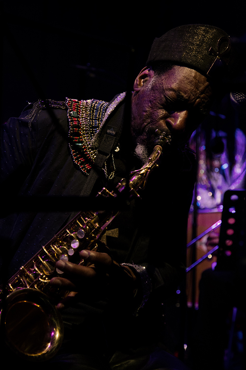 Sun Ra Arkestra directed by Marshall Allen by Laurent Orseau - Concert - Les Ateliers Claus - Brussels, Belgium #28