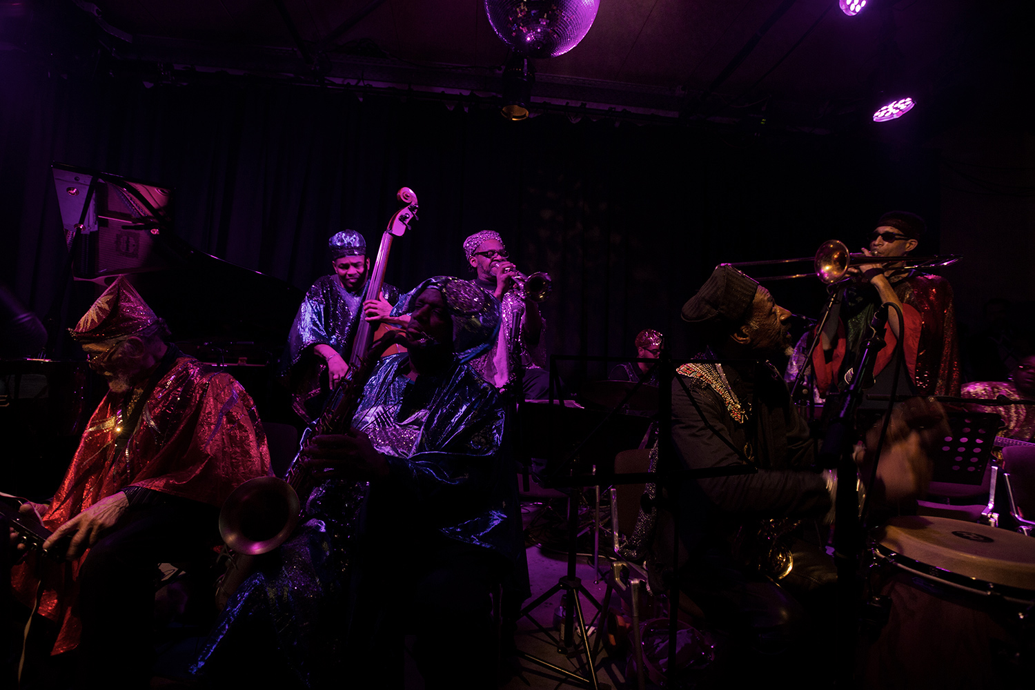 Sun Ra Arkestra directed by Marshall Allen by Laurent Orseau - Concert - Les Ateliers Claus - Brussels, Belgium #3