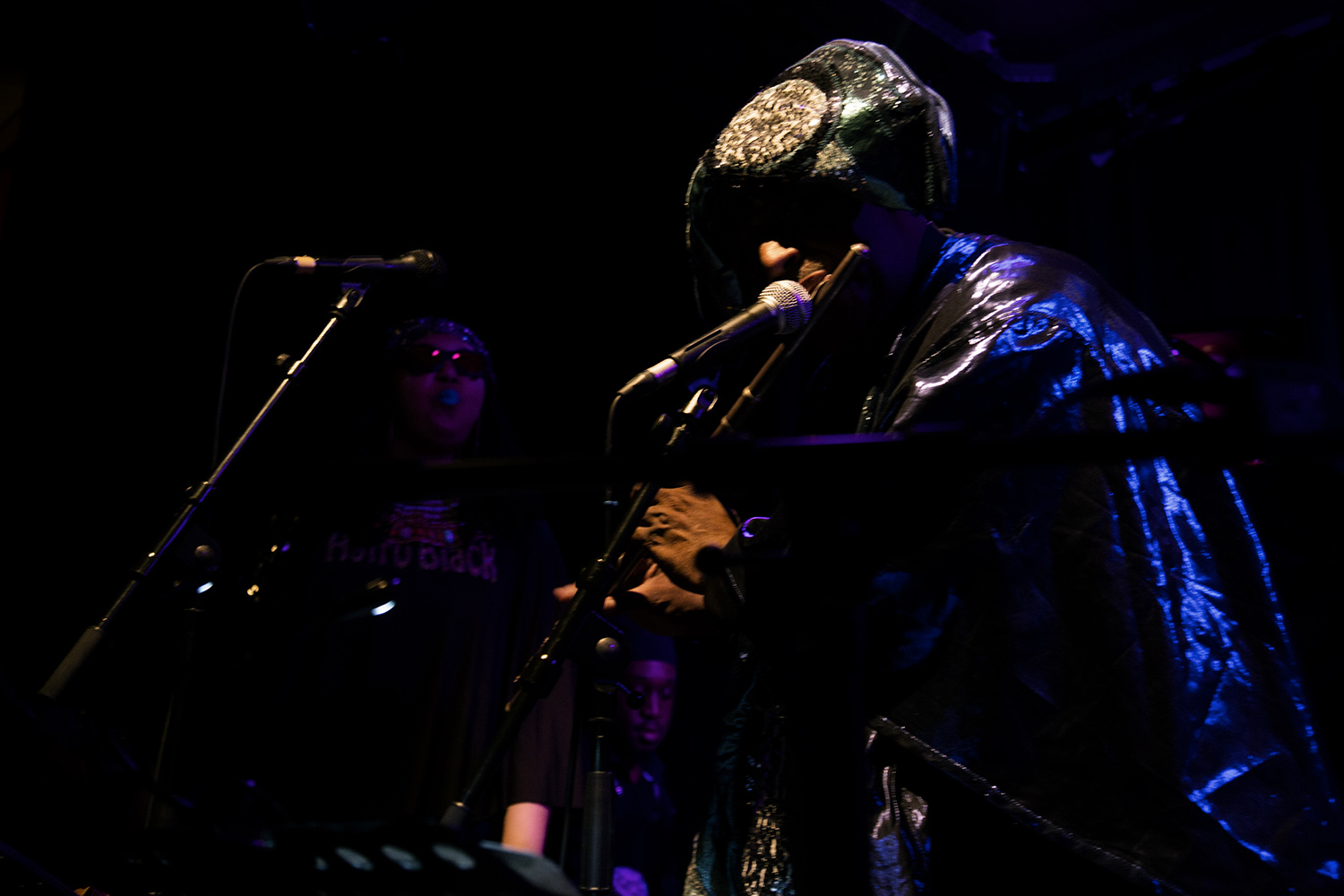Sun Ra Arkestra directed by Marshall Allen by Laurent Orseau - Concert - Les Ateliers Claus - Brussels, Belgium #30