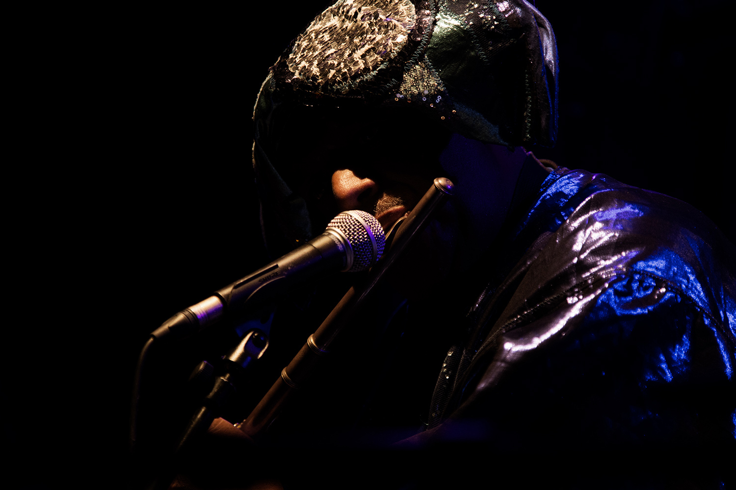 Sun Ra Arkestra directed by Marshall Allen by Laurent Orseau - Concert - Les Ateliers Claus - Brussels, Belgium #31