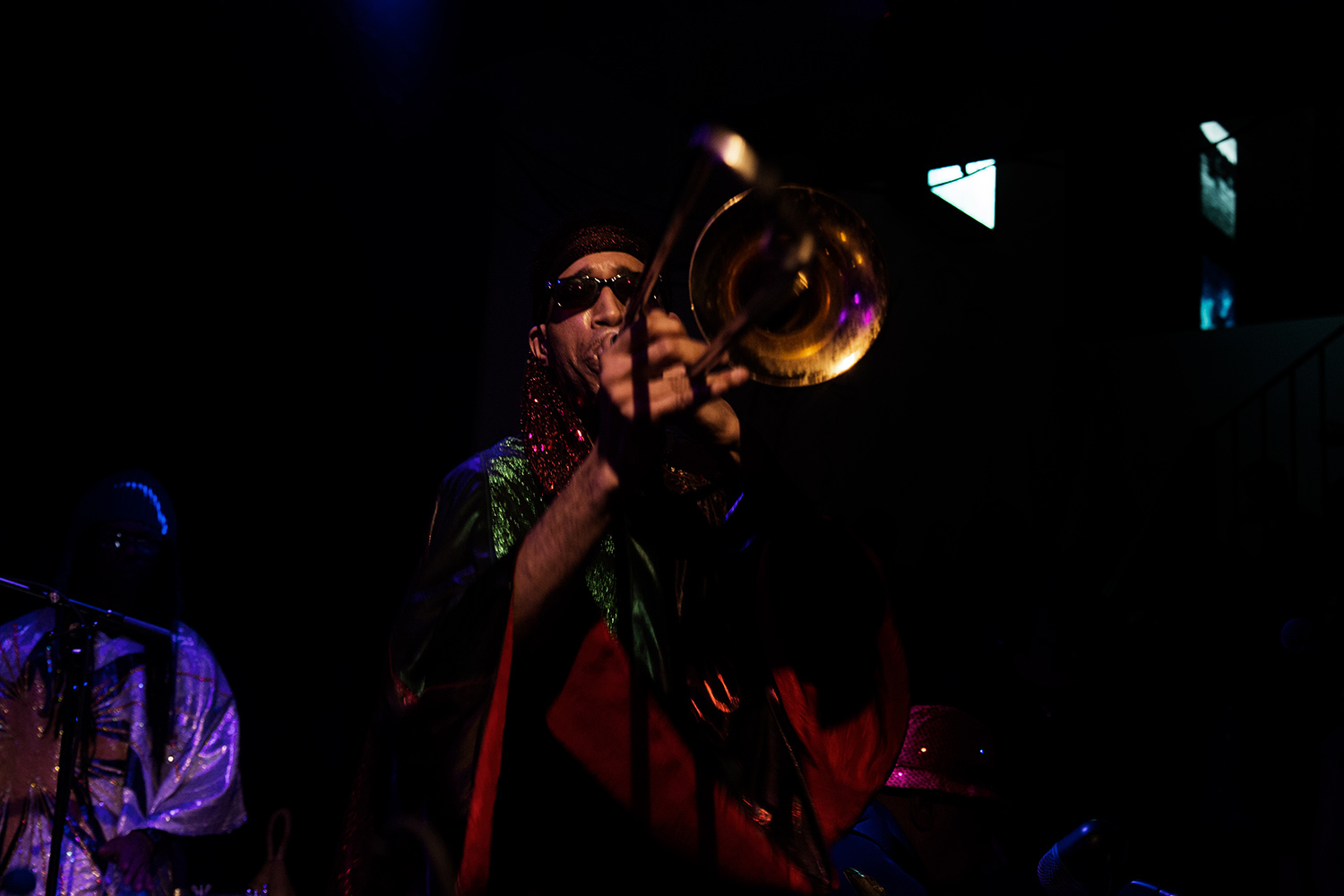 Sun Ra Arkestra directed by Marshall Allen by Laurent Orseau - Concert - Les Ateliers Claus - Brussels, Belgium #32