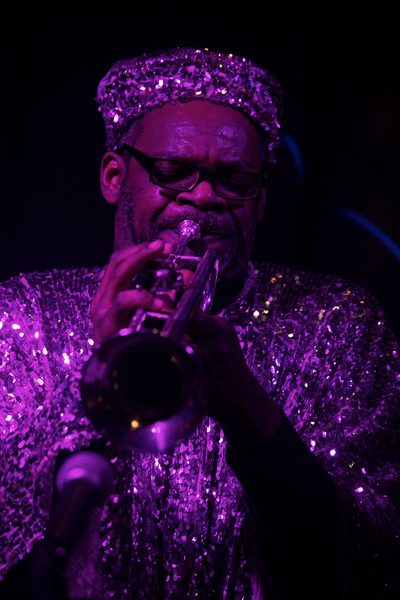 Sun Ra Arkestra directed by Marshall Allen by Laurent Orseau - Concert - Les Ateliers Claus - Brussels, Belgium #34