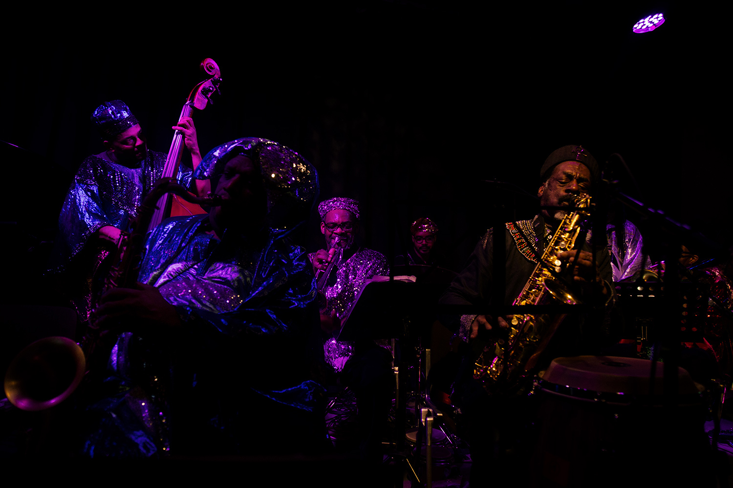 Sun Ra Arkestra directed by Marshall Allen by Laurent Orseau - Concert - Les Ateliers Claus - Brussels, Belgium #4