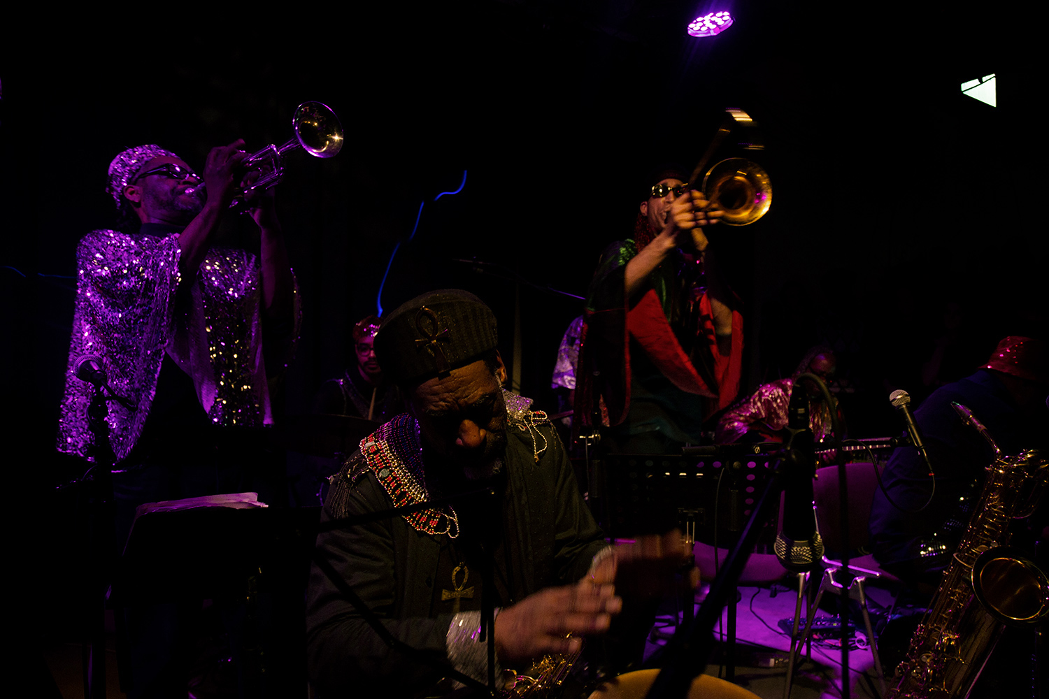 Sun Ra Arkestra directed by Marshall Allen by Laurent Orseau - Concert - Les Ateliers Claus - Brussels, Belgium #5