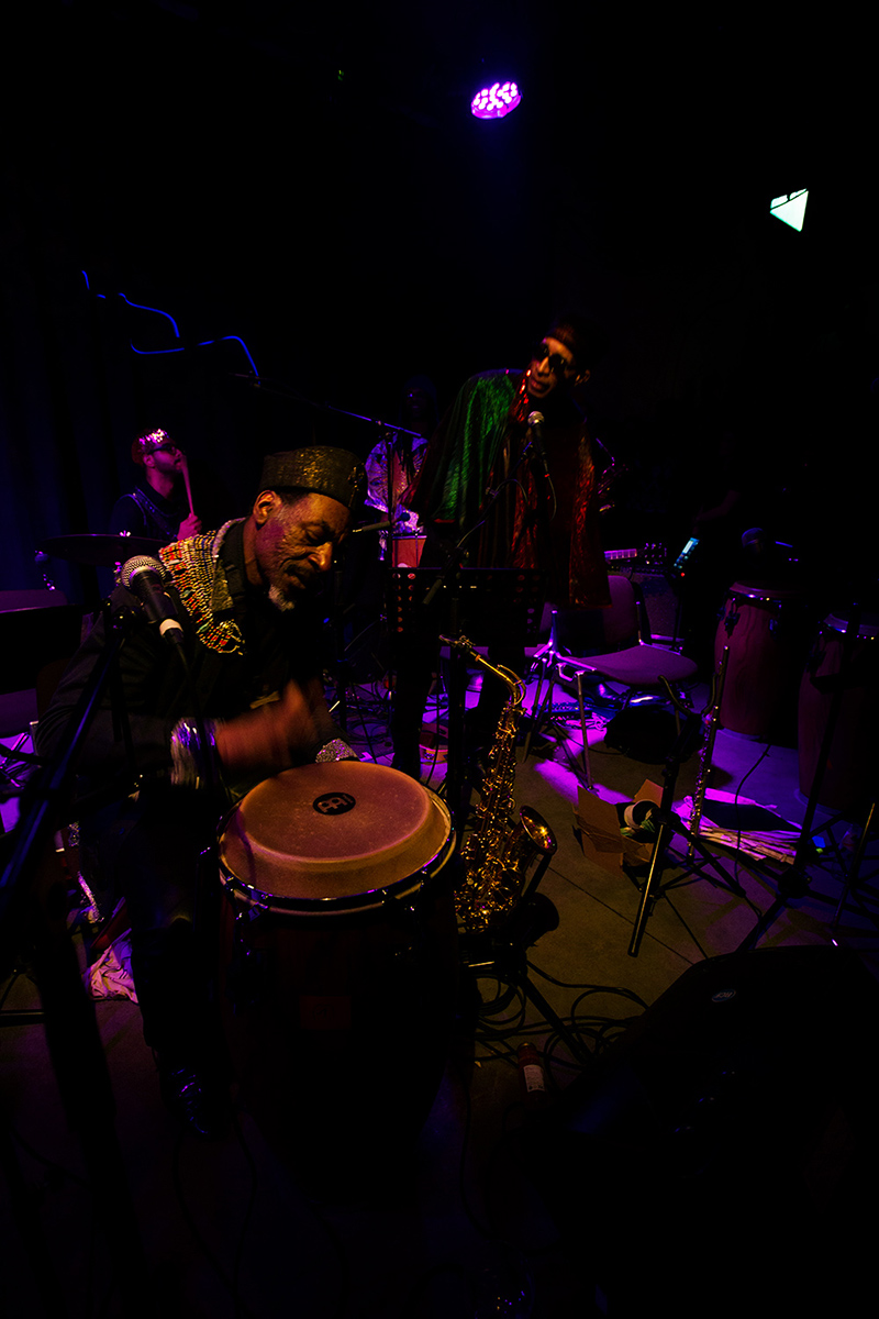 Sun Ra Arkestra directed by Marshall Allen by Laurent Orseau - Concert - Les Ateliers Claus - Brussels, Belgium #6
