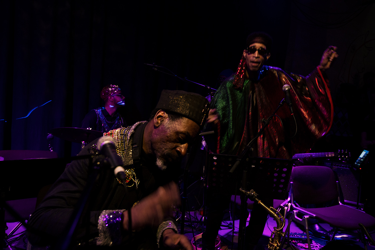 Sun Ra Arkestra directed by Marshall Allen by Laurent Orseau - Concert - Les Ateliers Claus - Brussels, Belgium #7