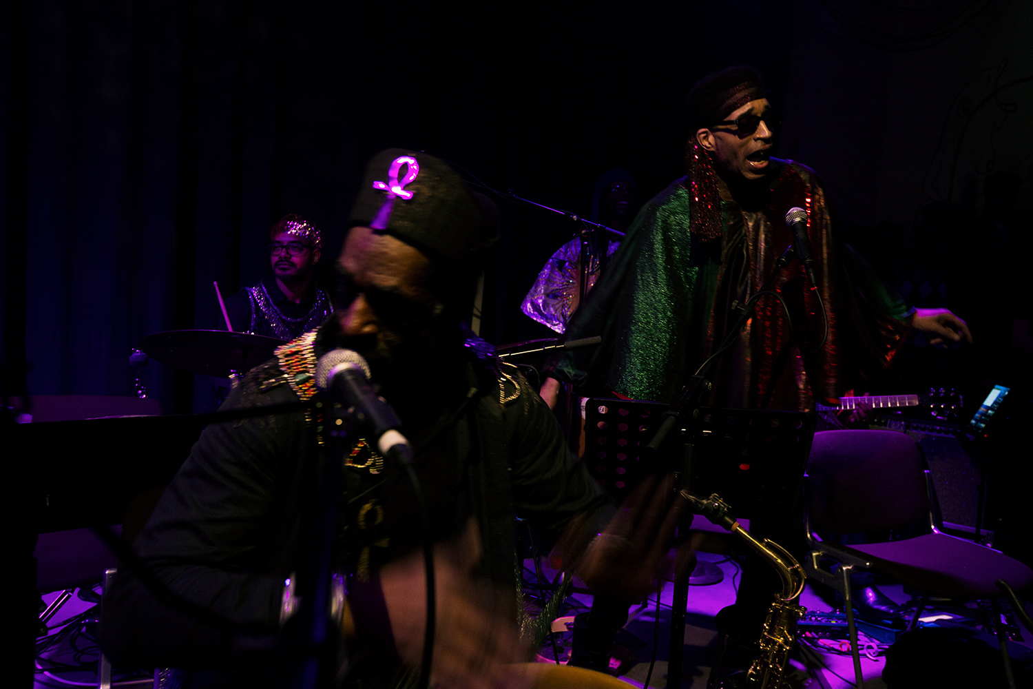 Sun Ra Arkestra directed by Marshall Allen by Laurent Orseau - Concert - Les Ateliers Claus - Brussels, Belgium #8
