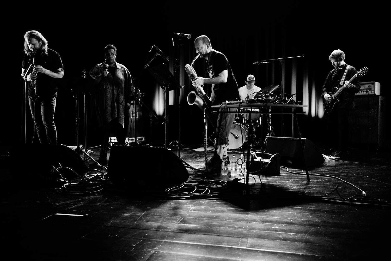 The End (Mats Gustafsson & Sofia Jernberg & Kjetil Møster & Anders Hana & Børge Fjordheim) - Summer Bummer Festival - De Studio - Antwerp, Belgium