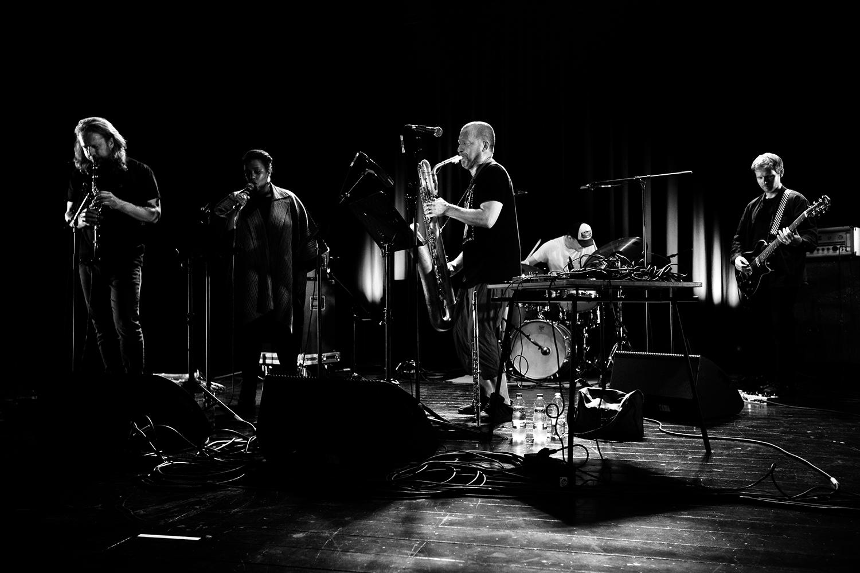 The End (Mats Gustafsson & Sofia Jernberg & Kjetil Møster & Anders Hana & Børge Fjordheim) by Laurent Orseau - Summer Bummer Festival - De Studio - Antwerp, Belgium #3