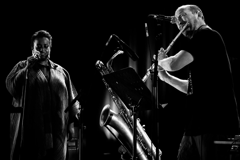The End (Mats Gustafsson & Sofia Jernberg & Kjetil Møster & Anders Hana & Børge Fjordheim) by Laurent Orseau - Summer Bummer Festival - De Studio - Antwerp, Belgium #4