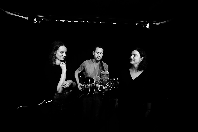 The Golden Glows - Soundcheck by Laurent Orseau - Concert - AB Salon - Brussels, Belgium #6