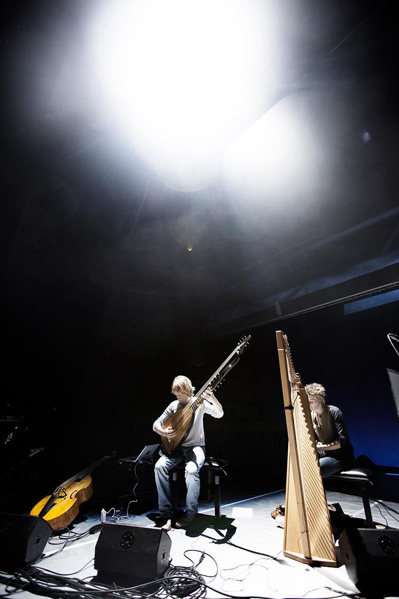 The Golden Glows & B.O.X by Laurent Orseau - Concert - deSingel - Antwerp, Belgium #10
