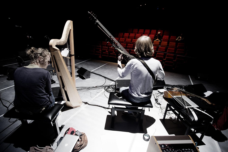 The Golden Glows & B.O.X by Laurent Orseau - Concert - deSingel - Antwerp, Belgium #11