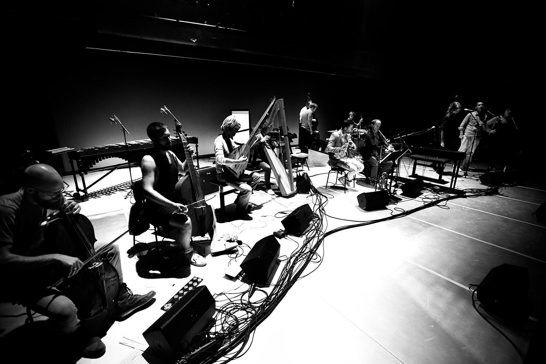 The Golden Glows & B.O.X by Laurent Orseau - Concert - deSingel - Antwerp, Belgium #19