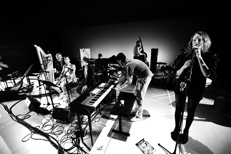 The Golden Glows & B.O.X by Laurent Orseau - Concert - deSingel - Antwerp, Belgium #21