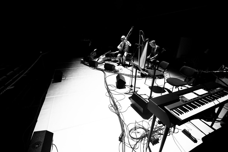 The Golden Glows & B.O.X by Laurent Orseau - Concert - deSingel - Antwerp, Belgium #26