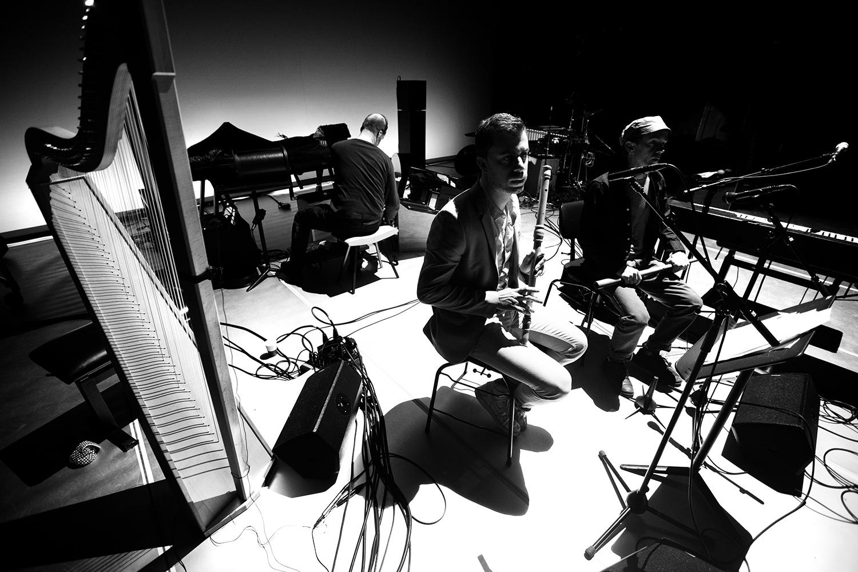 The Golden Glows & B.O.X by Laurent Orseau - Concert - deSingel - Antwerp, Belgium #28