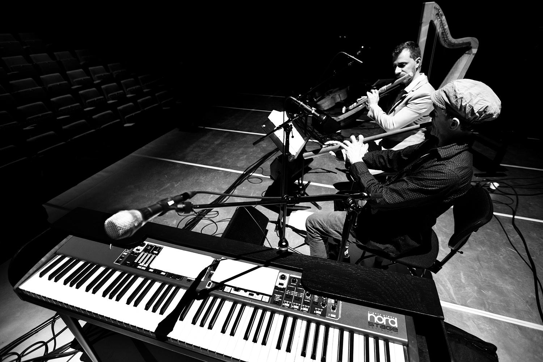The Golden Glows & B.O.X by Laurent Orseau - Concert - deSingel - Antwerp, Belgium #29