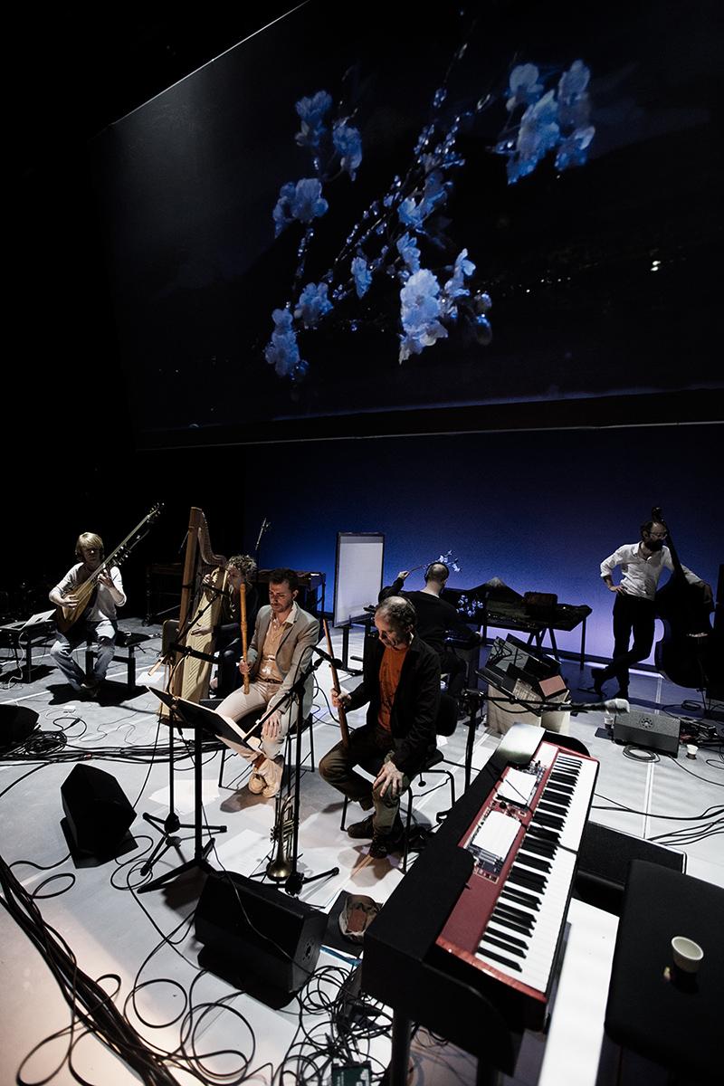 The Golden Glows & B.O.X by Laurent Orseau - Concert - deSingel - Antwerp, Belgium #3