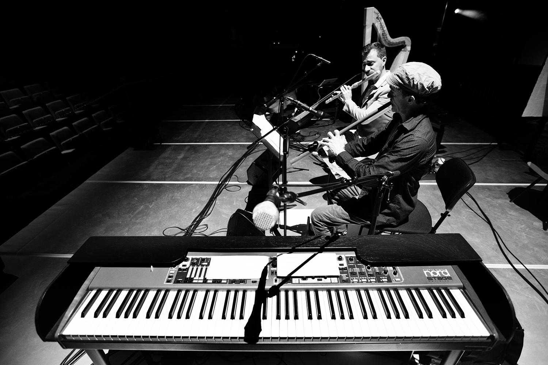The Golden Glows & B.O.X by Laurent Orseau - Concert - deSingel - Antwerp, Belgium #30