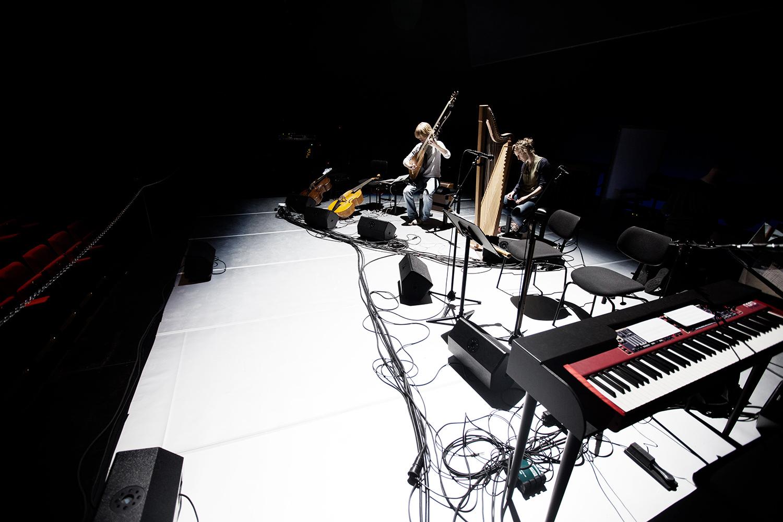 The Golden Glows & B.O.X by Laurent Orseau - Concert - deSingel - Antwerp, Belgium #8