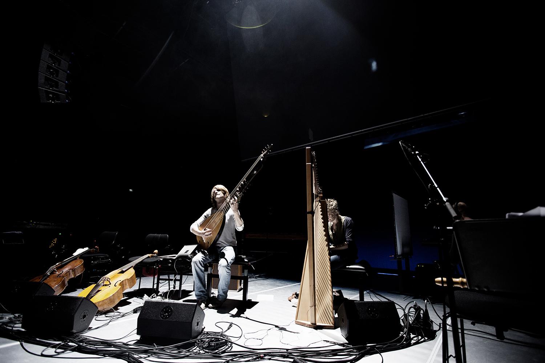 The Golden Glows & B.O.X by Laurent Orseau - Concert - deSingel - Antwerp, Belgium #9