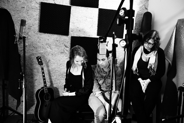 The Golden Glows - Recording - Studio Caporal - Antwerp, Belgium