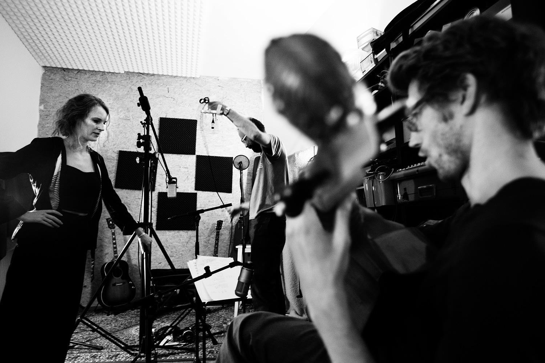 The Golden Glows by Laurent Orseau - Recording - Studio Caporal - Antwerp, Belgium #10